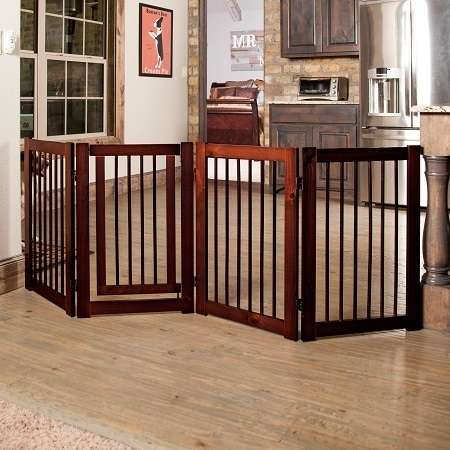 Free Standing Baby Gate